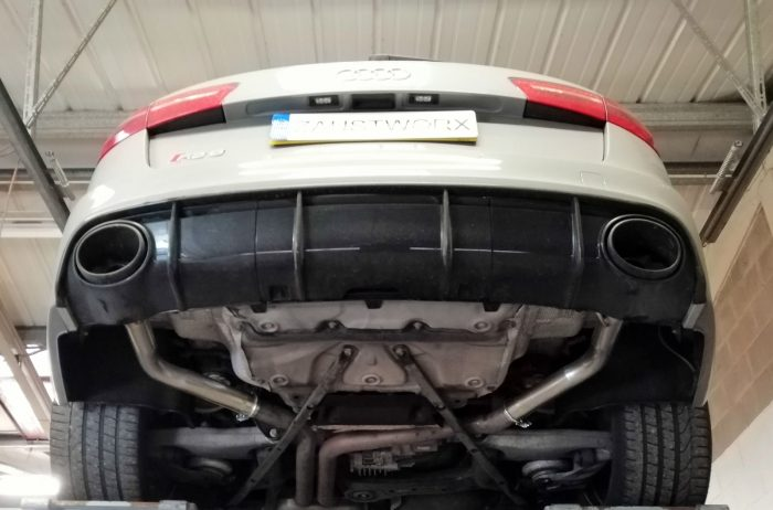 Audi RS6 Rear silencer deletes