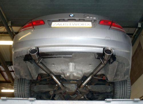 BMW 335i rear silencer deletes