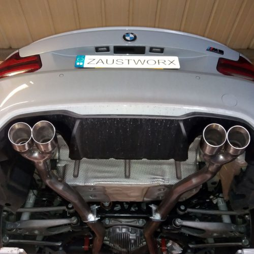BMW M2 Competition Rear Silencer Deletes