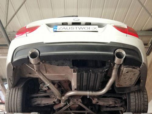 BMW E9X 335i exhaust conversion