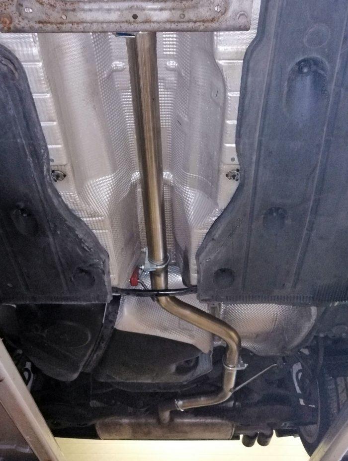 Volkswagen Golf Mk7 1.4TSi resonator delete