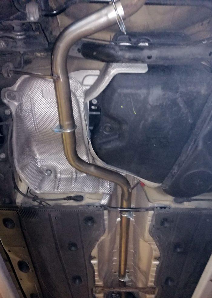 Audi A3 8V 1.4TFSi resonator delete