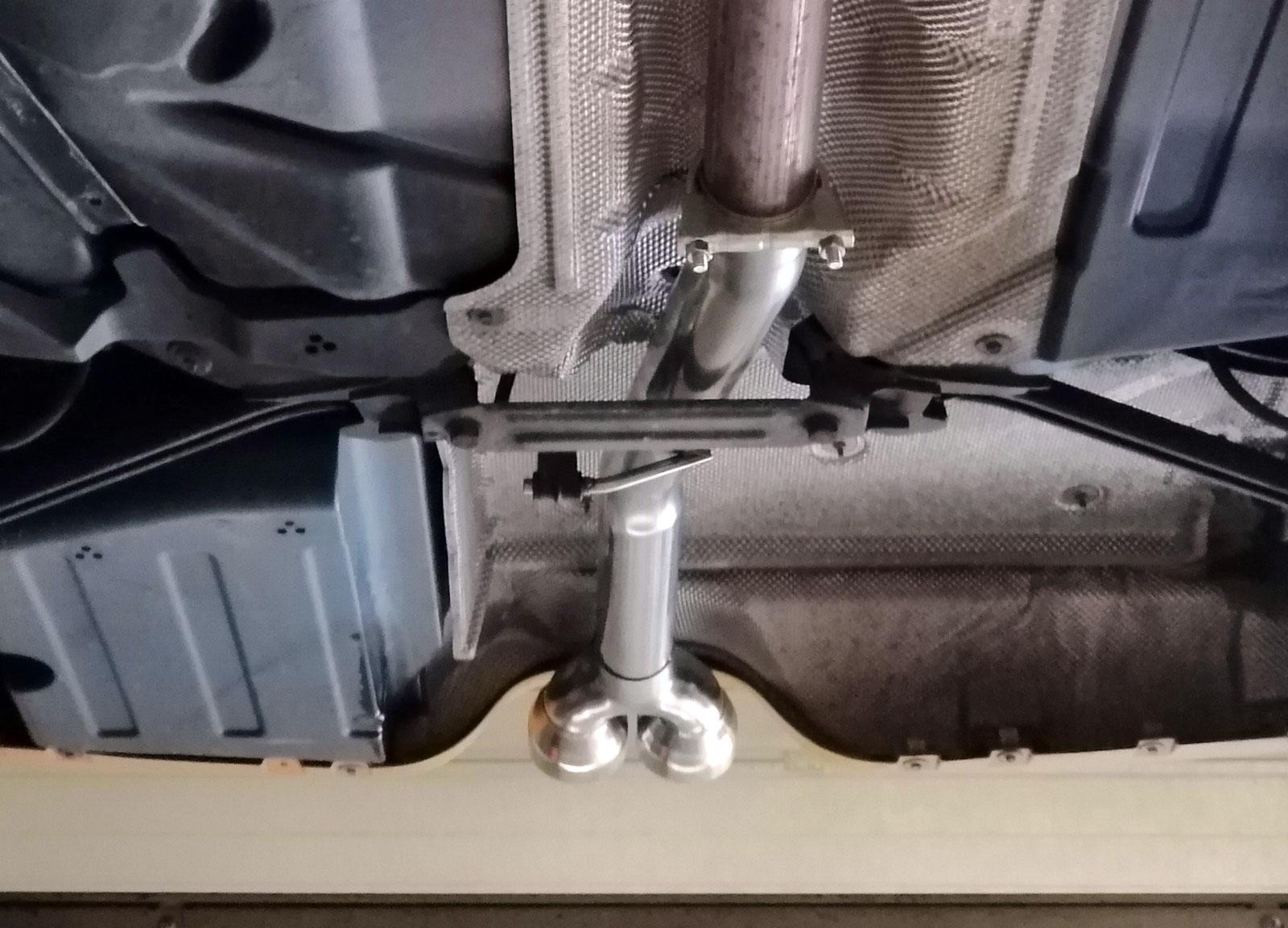 Mini cooper s F55 silencer delete
