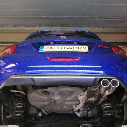 Peugeot 208 GTi rear silencer delete