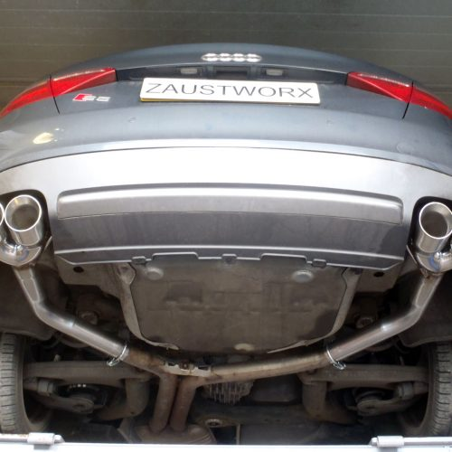 audi s5 b8 rear silencer deletes