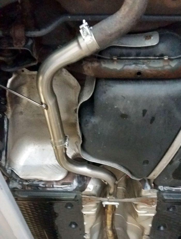 Audi A3 8P Resonator delete