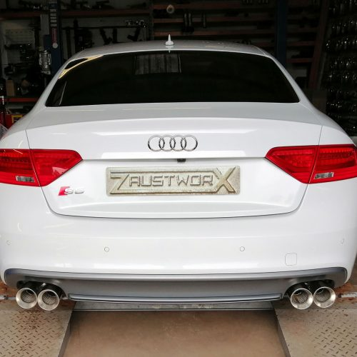 audi s5 rear silencer deletes