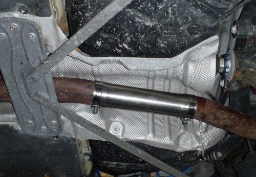 BMW M135i Resonator Delete