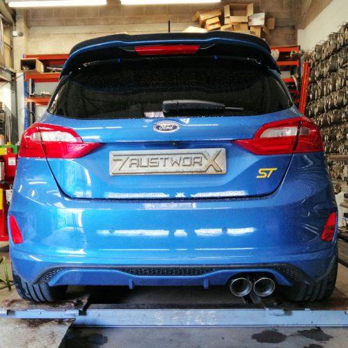 Ford Fiesta ST200 Mk8 Rear silencer delete