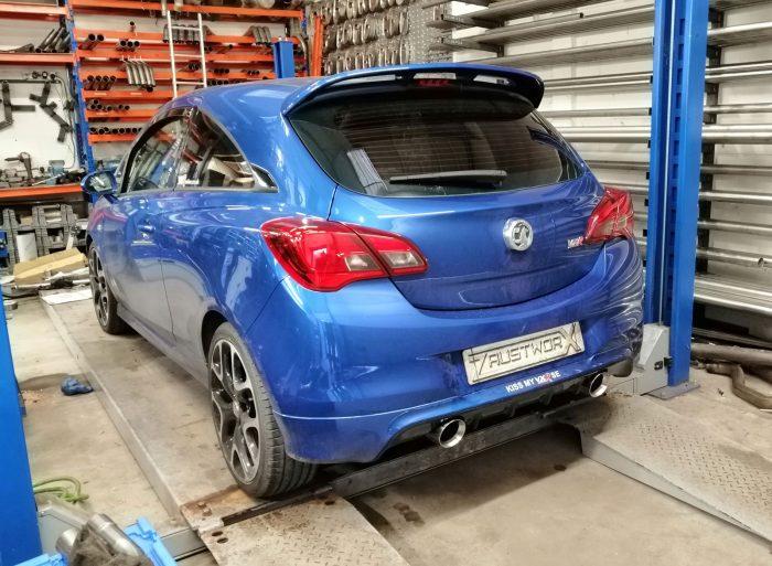 Vauxhall Corsa E VXR Rear Silencer Delete