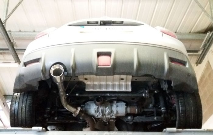 Nissan Juke Nismo RS Rear silencer delete